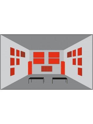 Basotect® Akustika - pre izbu > 15 m2