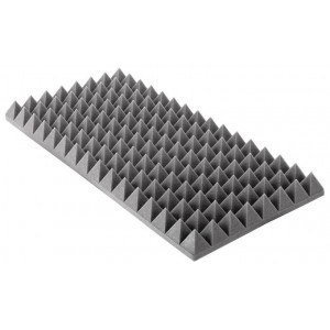 7 cm Akustická pena PROFI pyramídová PU