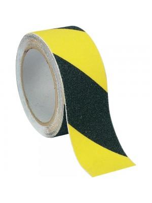 Protišmyková žlto-čierna páska